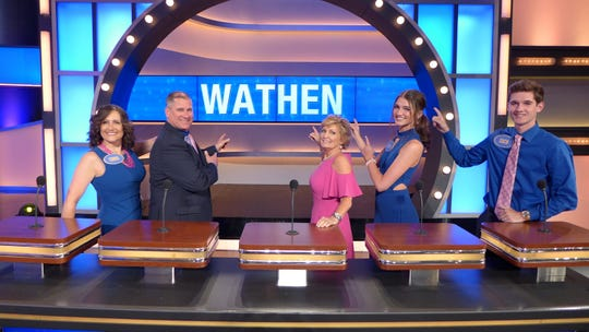 "Linda Baird of Uniontown will appear with her relatives, the Wathen family, on an episode of the popular television game show ""Family Feud"" this week."