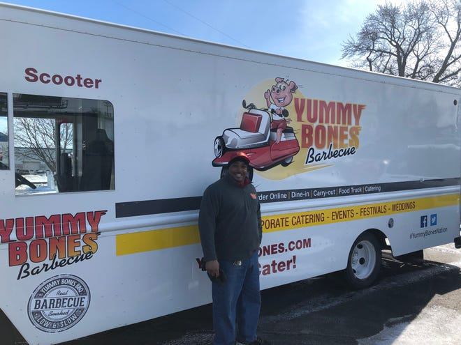 Robert Meredith opened his second Yummy Bones Barbecue location in Fond du Lac in summer 2018. The Yummy Bones Barbecue food truck will be found a local festivals as well as at private events.