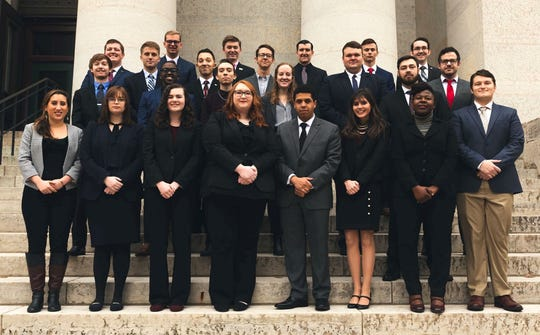 Class of 2019 Legislative Service Commission Fellows in Columbus.