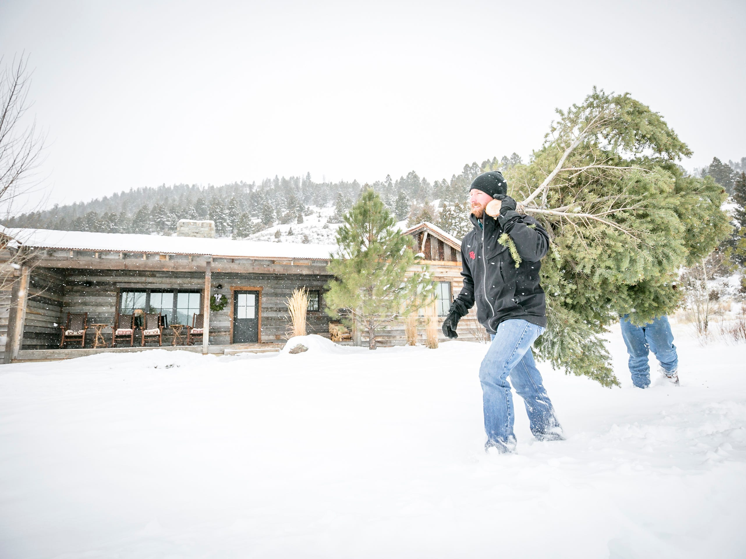 Winter fun at The Ranch at Rock Creek near Philipsburg