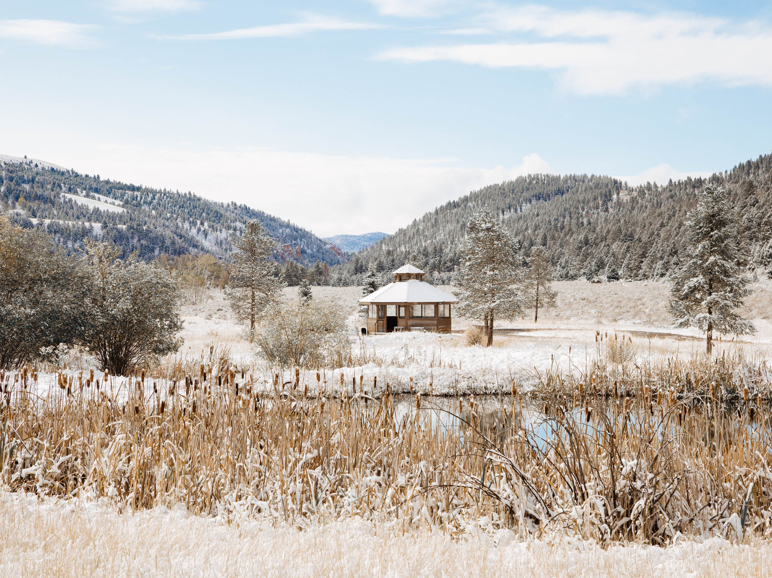 Winter is the bargain season, relatively speaking, at the Ranch at Rock Creek near Philipsburg