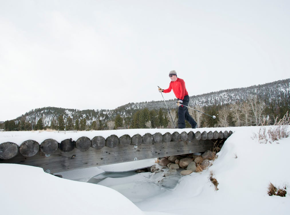 The Ranch at Rock Creek offers cross-country skiing and ski trips to Discovery.