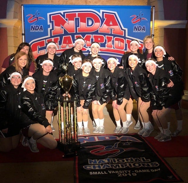 NDA National champs from Henderson County High School