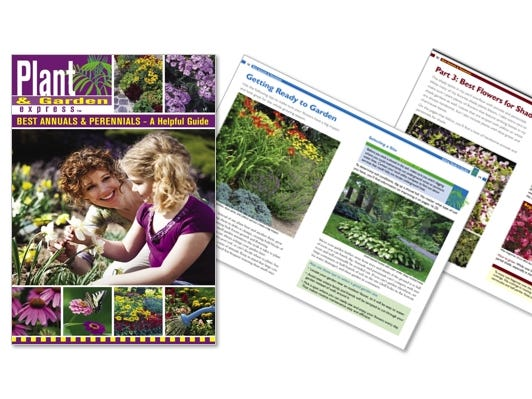 eBook - annuals & perennials guide