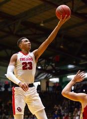 Center Grove senior Trayce Jackson-Davis  is headed to IU next season.