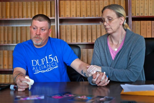 The daughter of Dave and Heidi Curtis was born with a genetic condition that caused seizures. Medical marijuana helped, the couple says.