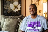 Brent Carmichael, a 57-year-old kidney transplant recipient, describes the process of getting a transplant, Feb. 23, 2019.