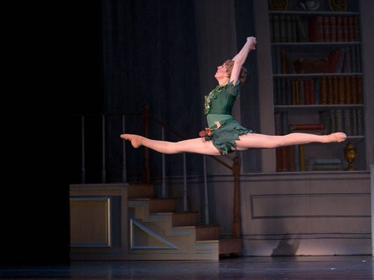 Kylie Morton Berry plays Peter Pan in the Appalachian Ballet's upcoming production.