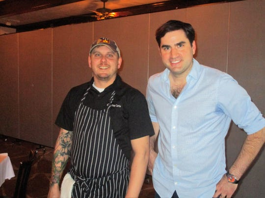 Executive Chef Ryan Trahan and Jacques Rodrigue