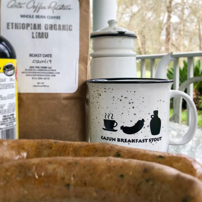 Bayou Teche Brewing in Arnaudville is introducing a limited-edition ale to kick off Mardi Gras weekend: A breakfast stout brewed with boudin.