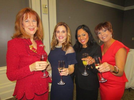 Margaret Ruffin, Marla Hebert, Wendy Llopis and Julie Babin