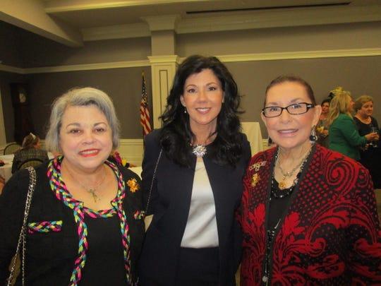 Myra Tenor, Rickie Crochet and Lynn Crochet