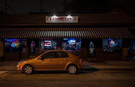 Check's Cafe on a Monday night. Jan. 16, 2019