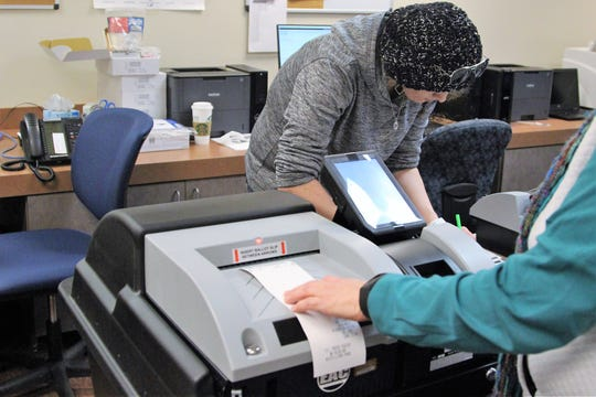 The Marion County Board of Elections is expecting a total of 200 voting machines and 20 scanners as well as ballot boxes by the time early voting starts for the May 7 election.