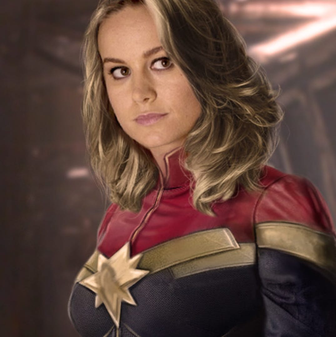 'Captain Marvel,' a female hero for all fans, arrives to delight of locals