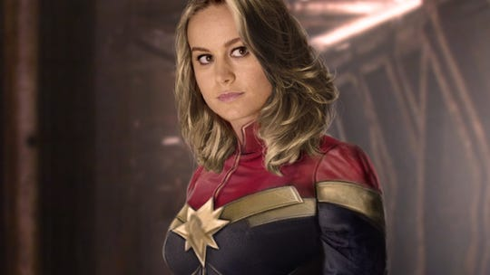 "Brie Larson stars in ""Captain Marvel"""