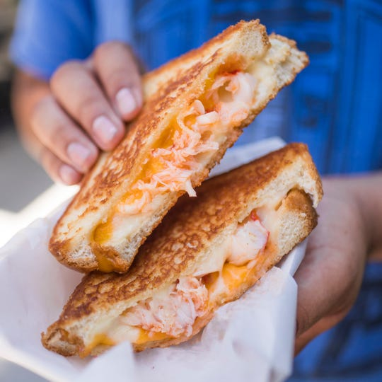 Cousins Maine Lobster offers Lobster Grilled Cheese. The company's first Memphis food truck opens on Saturday.