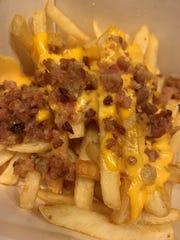 Cheesy bacon fries from McDonalds.