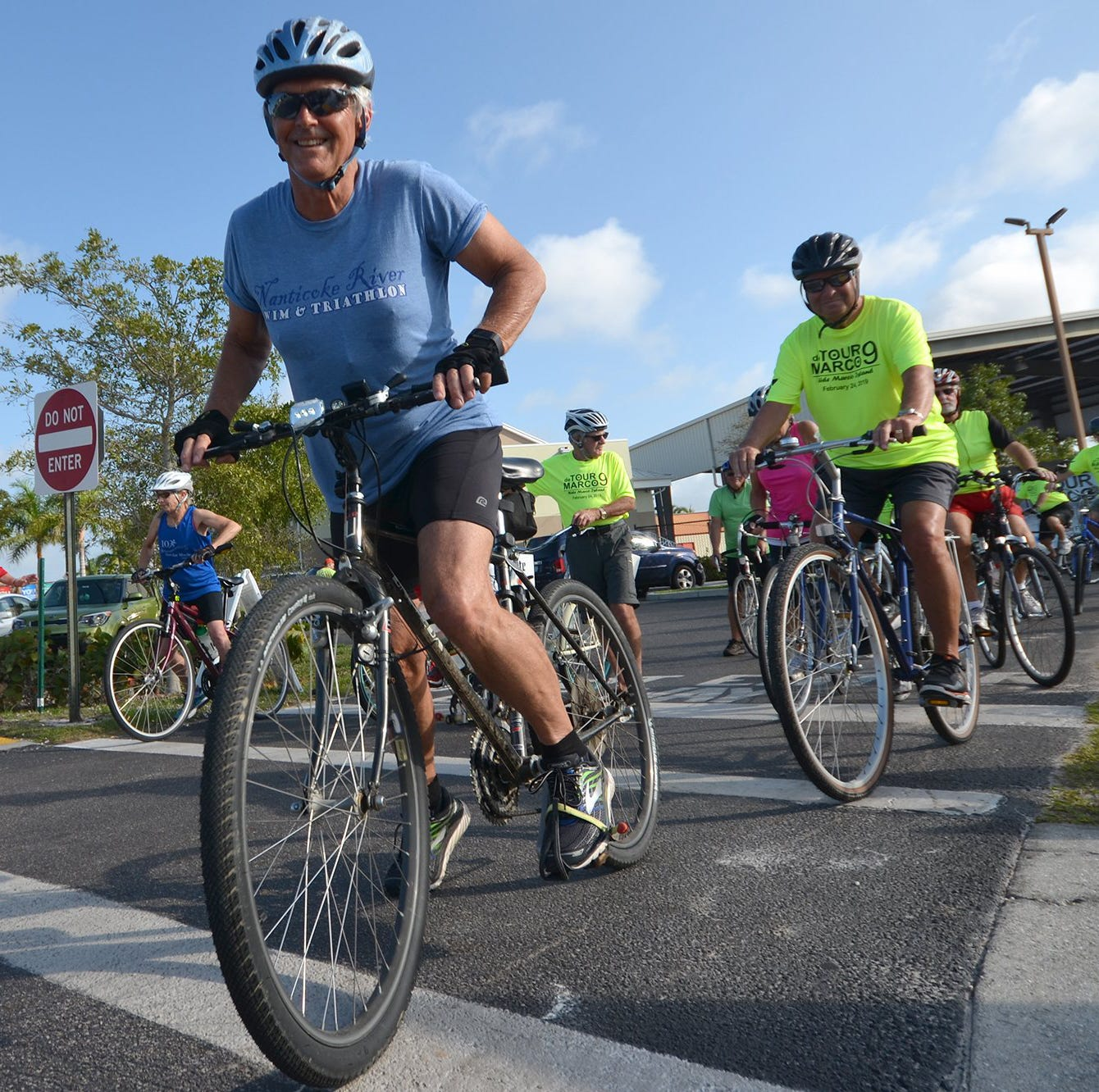 Tour de Marco: Cyclists cover island in Sunday morning ride