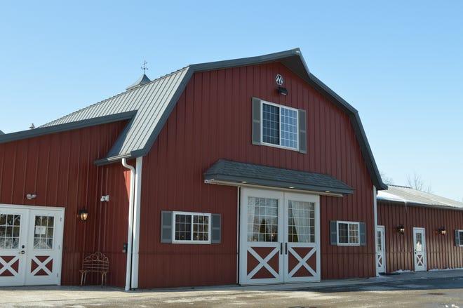 Rustic Manor 1848 is a barn wedding venue located at 3115 WI-83, Hartland.