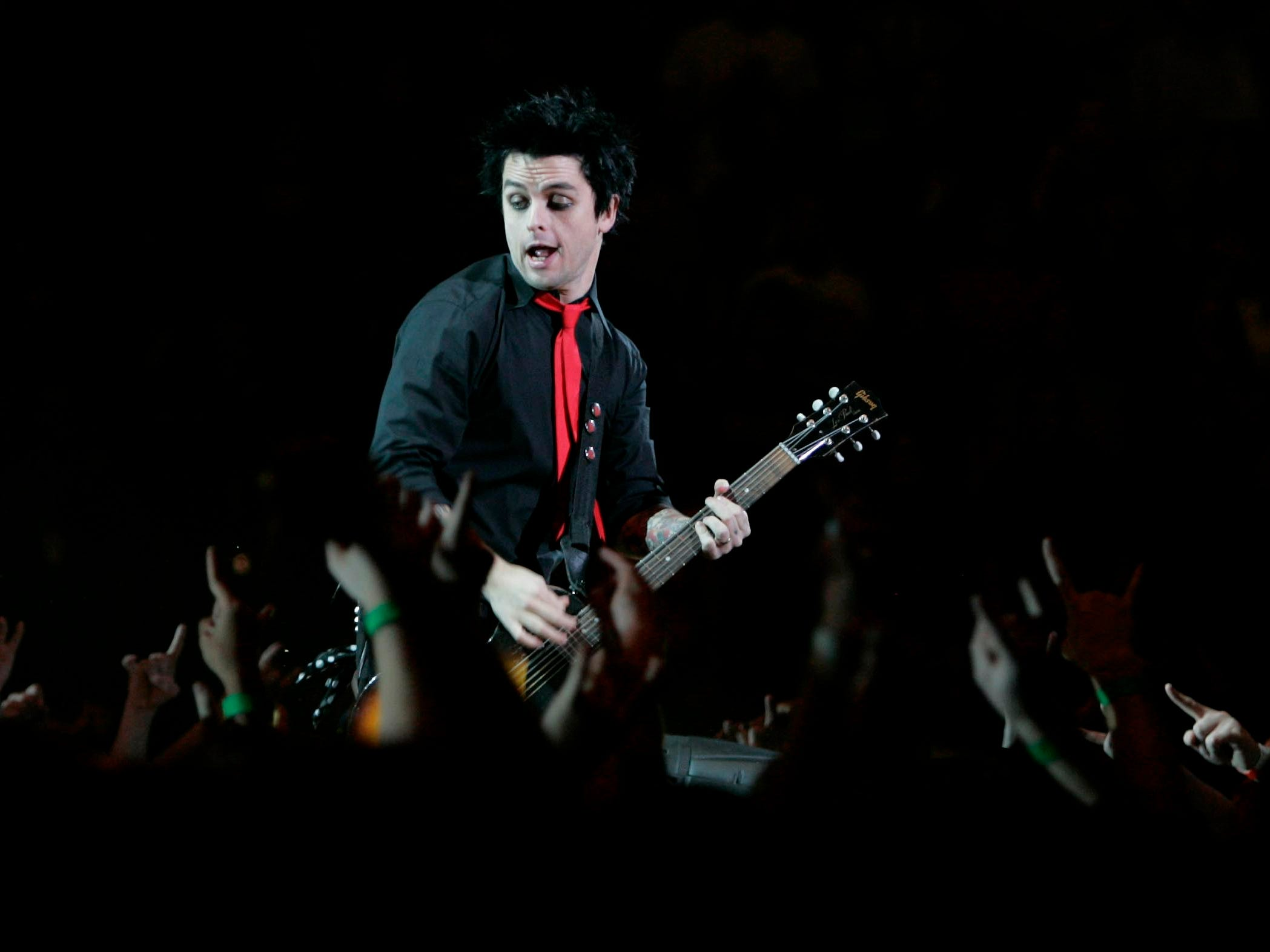 Green Day performs at the U.S. Cellular Arena on November 9, 2004. It was the punk band's last Milwaukee show, although Green Day did play Green Bay in 2017.