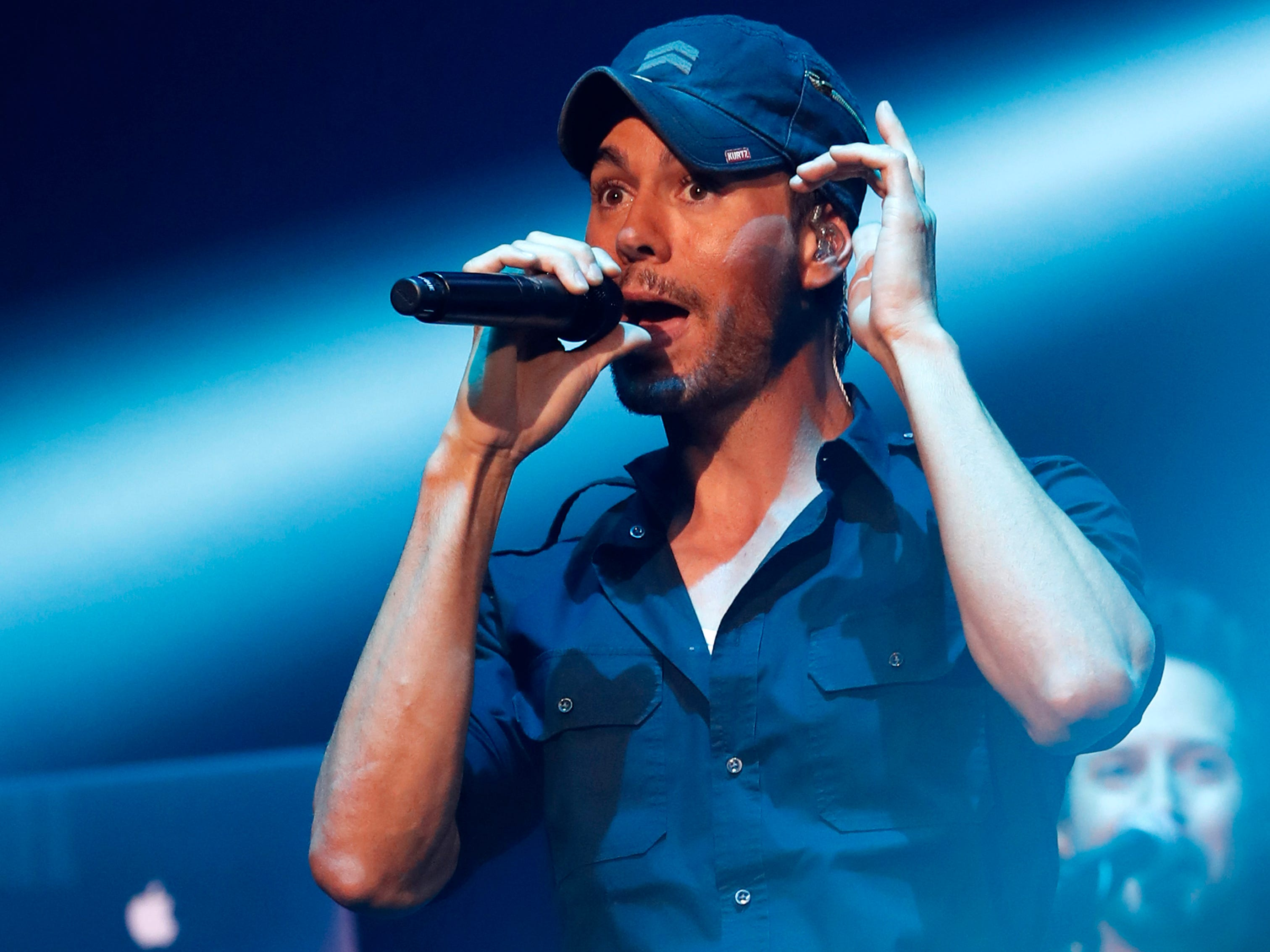 Latin pop star Enrique Iglesias has yet to perform in Milwaukee.