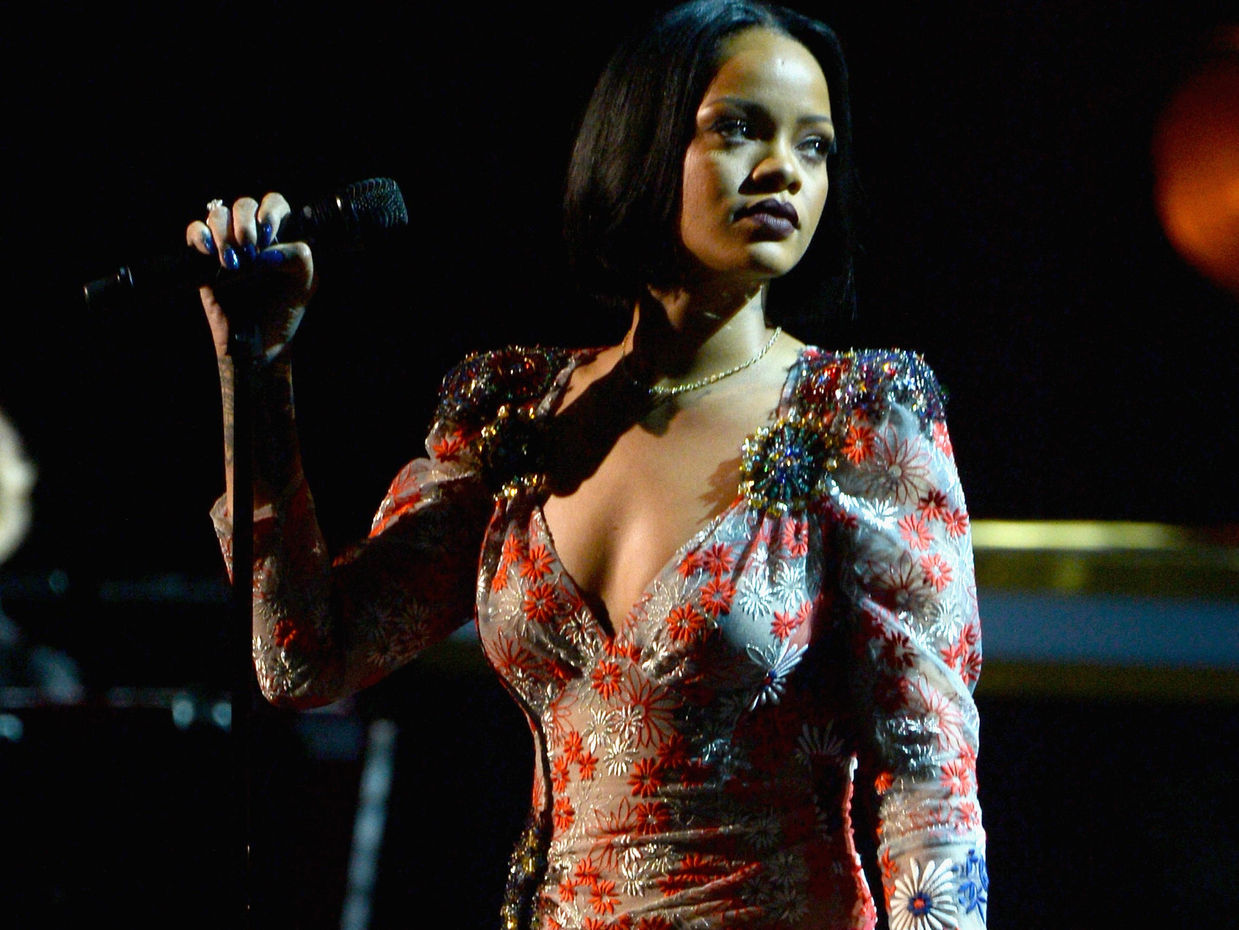 """Rihanna played one lone show in Milwaukee in her career, back on Aug. 13, 2006 at the Rave, before her true breakout smash """"Umbrella"""" propelled her to superstar status."""