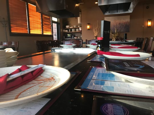 Hibachi and its lively dining experience is a popular option at Pacific Bistro.