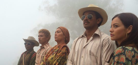 "A family's descent into the drug trade in rural Colombia leads to tragedy in ""Birds of Passage."""