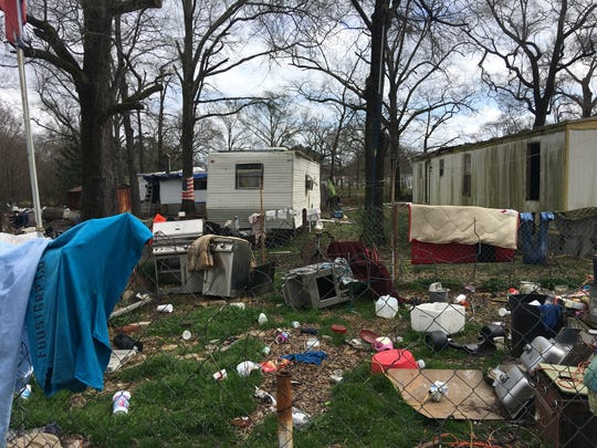 This property in Ouachita parish was cited for trash and violations and for having unpermitted RVs or mobile homes set up.