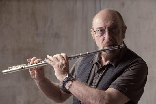 Flutist and vocalist Ian Anderson is touring in support of the 50th anniversary of Jethro Tull.