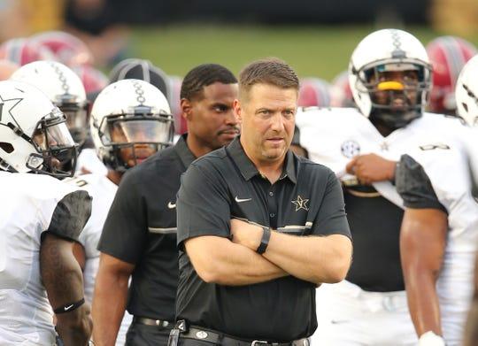 Vanderbilt's Gerry Gdowski has served as tight ends coach, quarterbacks coach and recruiting coordinator under Derek Mason. He was promoted to offensive coordinator in 2019.