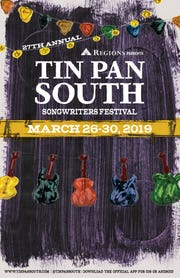 Nashville's 27th annual Tin Pan South Songwriters Festival returns this week to take over 10 local venues.