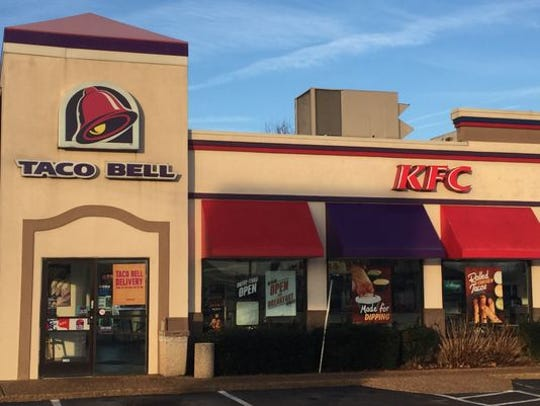 The owner of this Taco Bell and Kentucky Fried Chicken on Lebanon Road in Mt. Juliet wants to build a stand-alone building for the Taco Bell. KFC would then take over the existing building to be renovated.