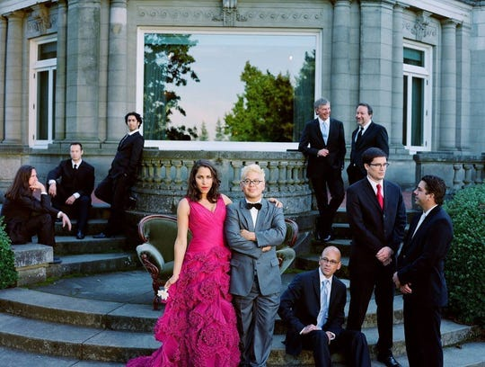 Pink Martini will perform with the San Angelo Symphony at 7:30 p.m. Saturday, April 13, at Angelo State University's Junell Center, 2235 S. Jackson St.