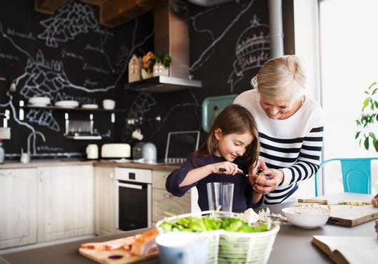 Parents should encourage grandparents to share their hobbies with their grandchildren, such as cooking.