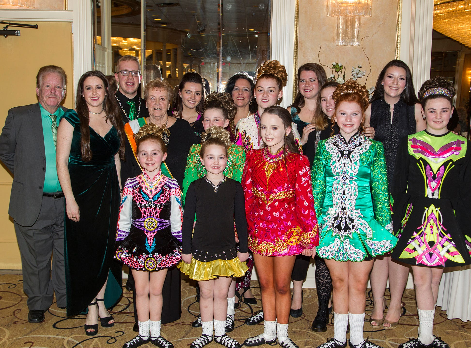 Early-McLoughlin School of Irish Dancing. 38th Annual St. Patrick's Day parade Installation Dance at The Graycliff in Moonachie. 2/23/2019