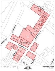 Properties included in the Leonia study