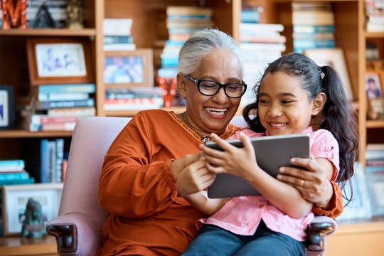 Martucci said parents can encourage children to teach their grandparents ways that technology can help them stay in touch.