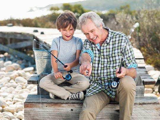 """Grandchildren are """"like sponges, looking to really engage in different things, so it's a mutually beneficial relationship,"""" Martucci says."""