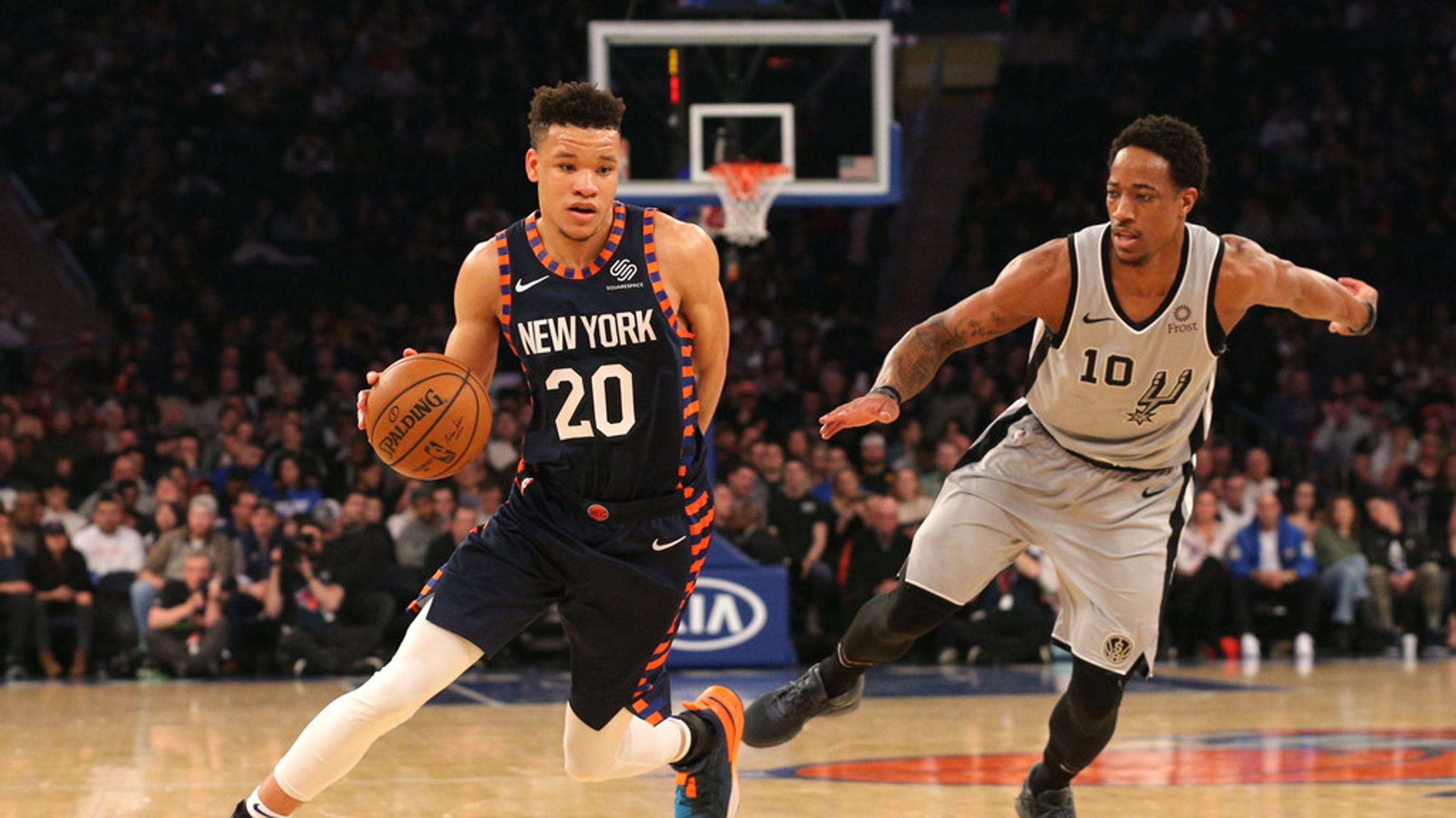 Ny Knicks Beat San Antonio Spurs Snapping Losing Streak