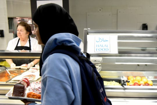 Students at John F. Kennedy High School can now get Halal lunches in the cafeteria thanks to a new pilot program introduced on Monday, Feb. 25, 2019, in Paterson.