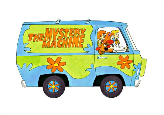 """Mystery Machine"" by Ron Campbell"