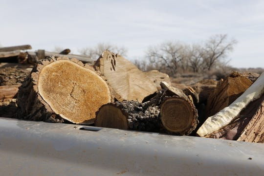 A mixture of cedar, oak and pine were delivered to Newcomb Chapter members on Monday.