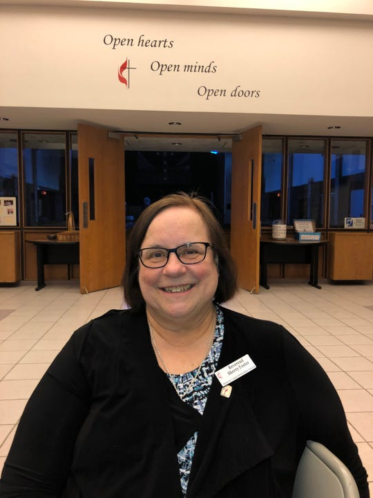Rev. Sherry Foster, a deacon at Milford United Methodist Church, said the congregation is on edge over a vote on whether gay clergy and same sex weddings should be allowed in the church.