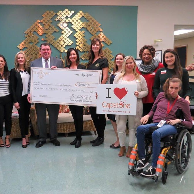 Krewe of the Gatsby Girls donates $9,020.61 to Capstone | Causes