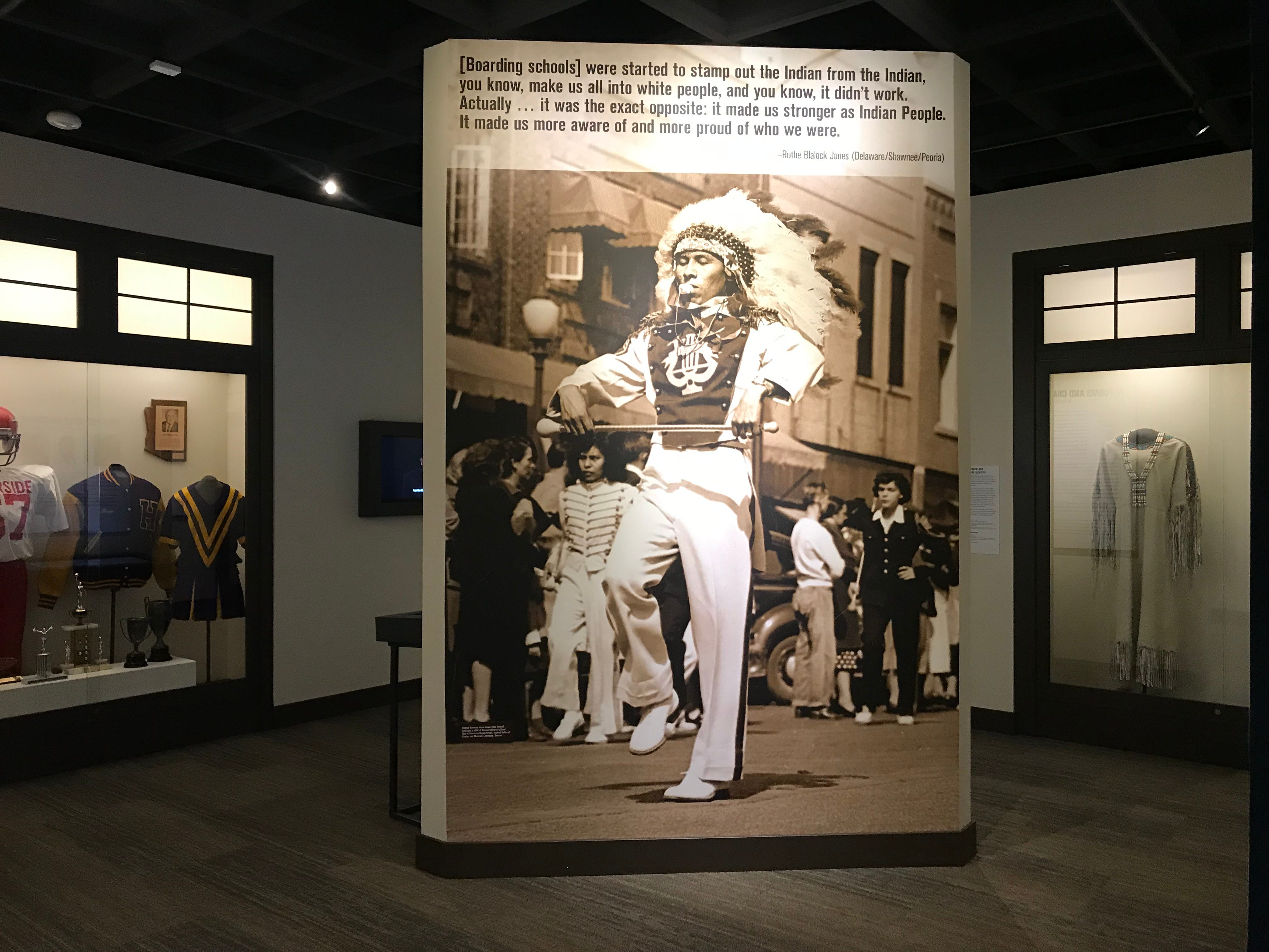 """Scenes from the  """"Away From Home: American Indian Boarding School Stories"""" exhibit at the Heard Museum."""