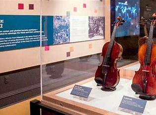 Violins of Hope exhibit is in the Valley through the end of March.