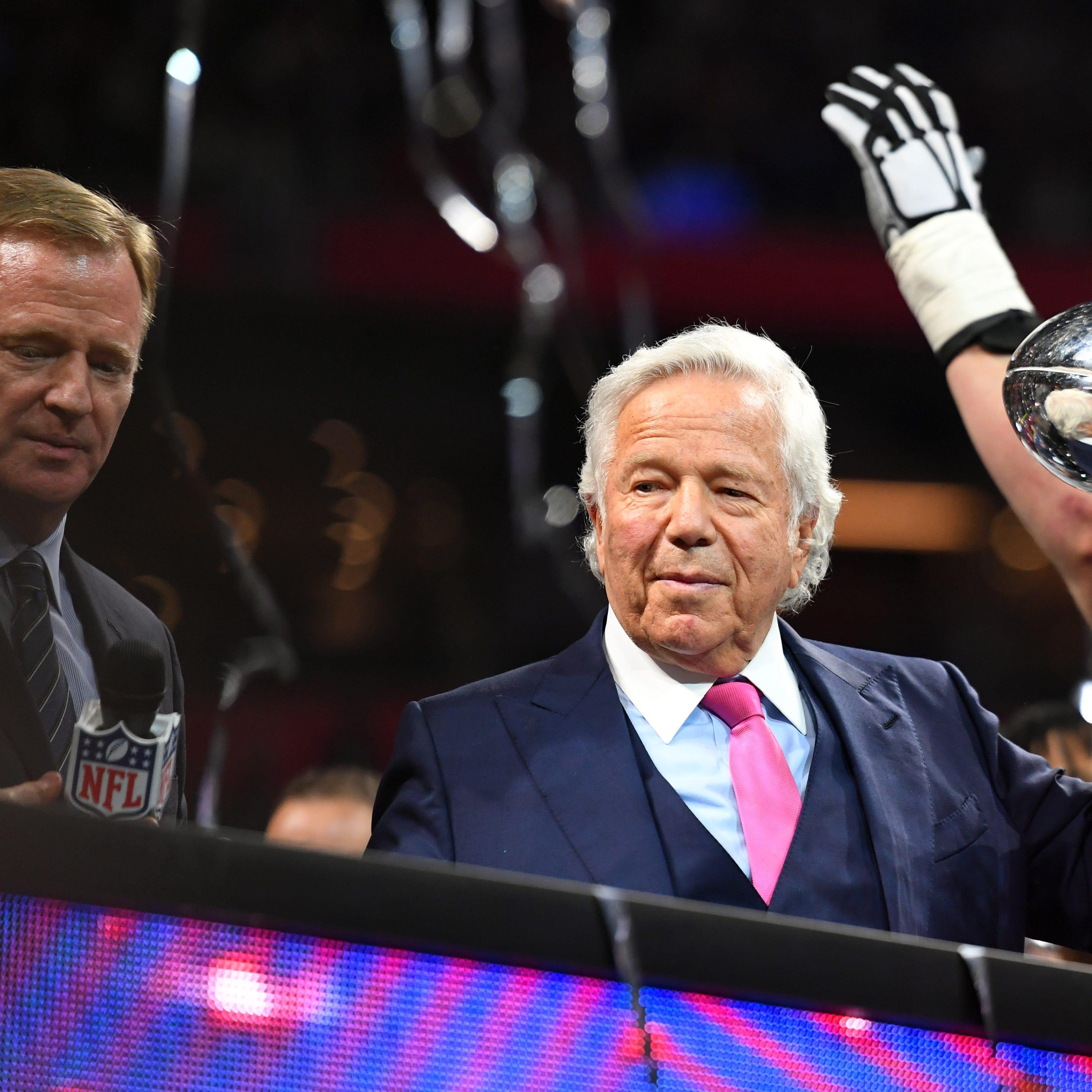 Here's how NFL should drop hammer on Robert Kraft if he's guilty