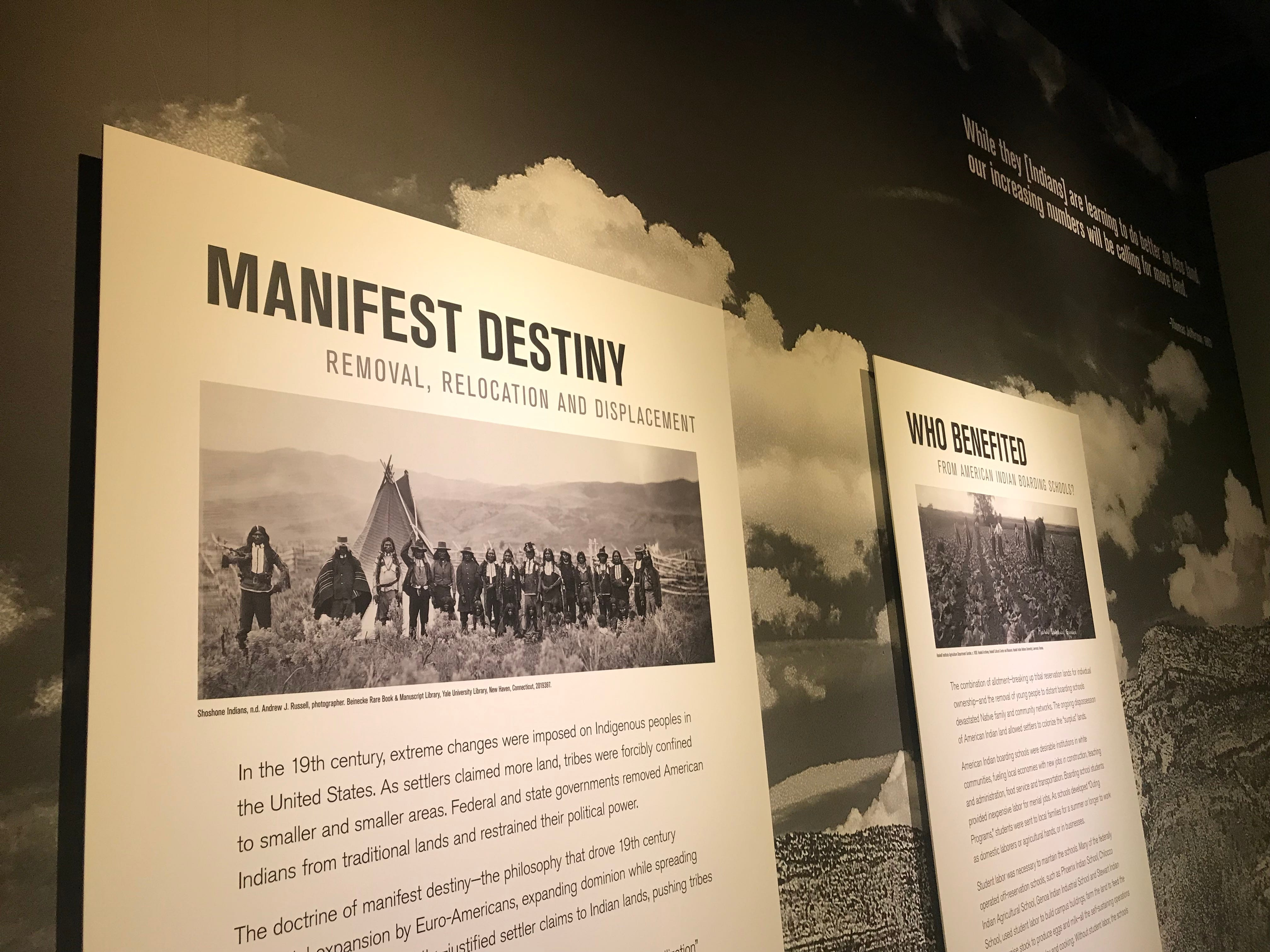 """Scenes from the Heard Museum's  """"Away From Home: American Indian Boarding School Stories."""""""